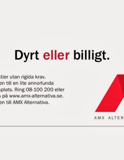Förslag till annons för Alternativa Aktiemarknaden