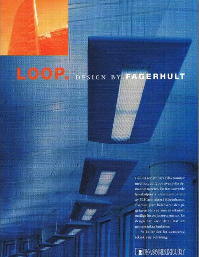 Annons omprofilering av Fagerhult