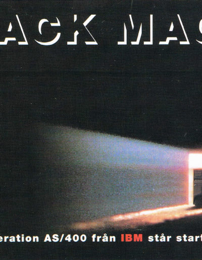 Annons ur reklamkampanj för IBM AS/400