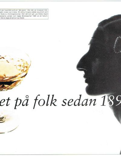 Annons del av reklamkampanj för Schwartzkopf
